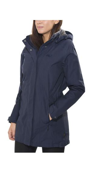 Jack Wolfskin Madison Avenue Coat Women night blue